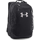 Under Armour Hustle Light Backpack Sports Bag Black