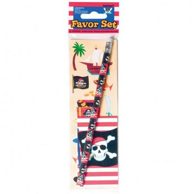 Pirates - Skull and Crossbones Party Favour Set (each)
