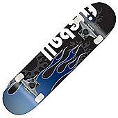 Voltage Classic Fireball Blue Complete Skateboard