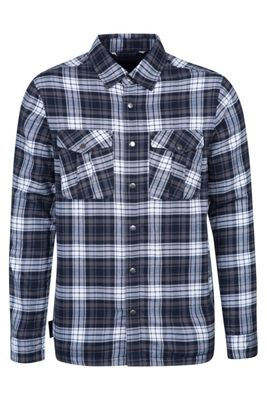 Mountain Warehouse Valley Mens Flannel Lined Long Sleeve Shirt ( Size: XXXL )