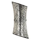 Marconi 2 Light 40W Wall Light Mirror Mosaic Glass