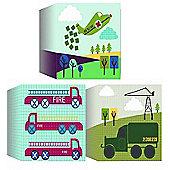 Transport Canvas Blocks