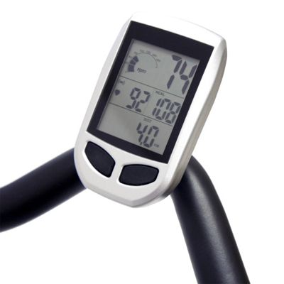 Bodymax Indoor Cycle LCD Monitor with Wireless Pulse excluding Chest Strap
