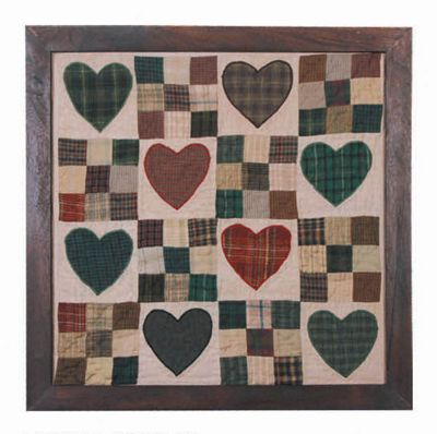Woven Magic Country Heart Miniature Quilt