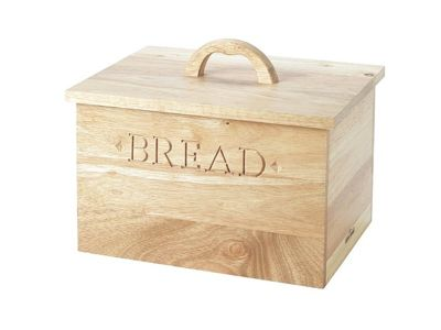 buy stow green large farmhouse wooden bread bin with lift. Black Bedroom Furniture Sets. Home Design Ideas