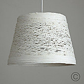 Jaap Rattan Ceiling Pendant Light Shade, Cream