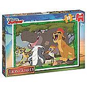 Jumbo Disney The Lion Guard Jigsaw Puzzle (35-Piece, Multi-Colour)