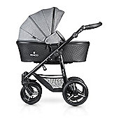 Venicci Shadow 3 in1 Travel System - Denim Grey/Black