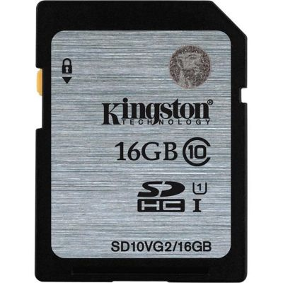 Kingston 16GB Class 10 UHS-I SD Card