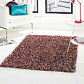 Spider Shaggy Rugs in Rainbow 110x160cm