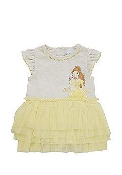 Disney Beauty and the Beast Belle Tutu Bodysuit - Yellow