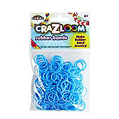 CRA-Z-LOOM Rubber Bands (Blue) - Arts and Crafts
