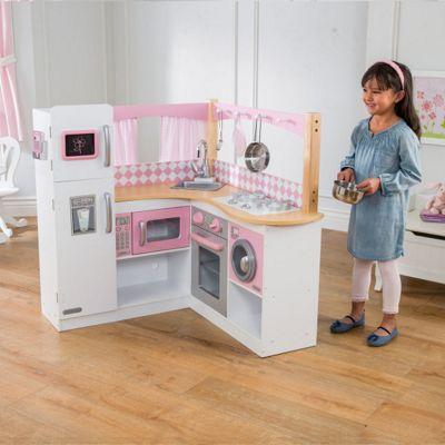 Buy KidKraft Grand Gourmet Corner Kitchen from our Toy Kitchen ...