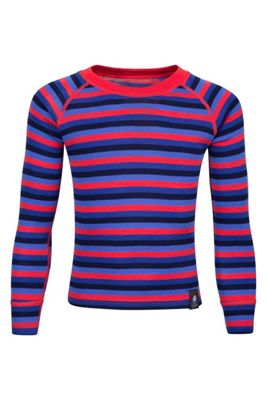 Mountain Warehouse Merino Kids Stripe Round Neck Top ( Size: 13-14 yrs )