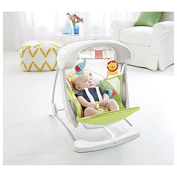 Fisher-Price Rainforest Take Along Baby Swing & Seat