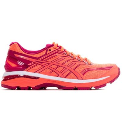 Asics Gel GT-2000 5 Womens Summer Pack Running Trainer Shoe Coral - UK 5