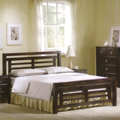 Ideal Furniture Colorado Bed - Double - Wenge