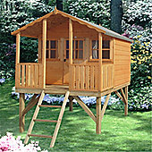 6 x 6 Wooden Platform Playhouse 6ft x 6ft (1.83m x 1.83m)
