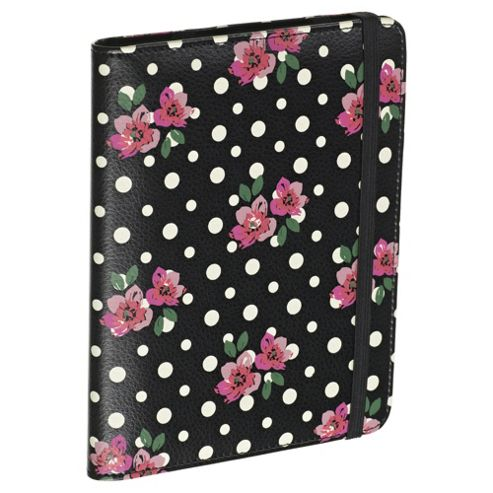 Accessorize Case/Stand for Kindle 4 - Floral Polka Dot