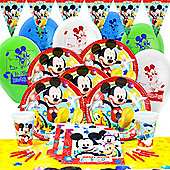 Mickey Mouse Deluxe Party Pack for 8
