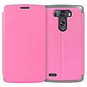 CaseBase Flip Folio Case for LG G3 - Pink