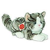 Teddy Hermann 20cm Grey Cat Plush Soft Toy