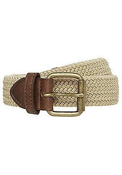F&F Woven Reversible Belt - Sand