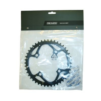 Truvativ Chainring MTB 44t 4 Bolt 104mm BCD Aluminium Hard Black 4mm