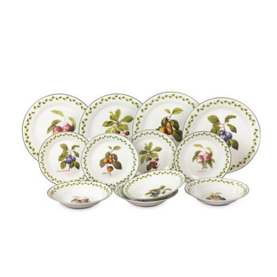 12pc Orchard Fruit Dinner Set