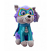 Paw Patrol Superheroes 'Everest' 27cm Sitting Plush Soft Toy