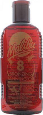 Malibu Bronzing Tanning Oil 200ml SPF8