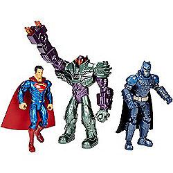 """""""Batman V Superman Action Figure 3 Pack - Batman, Superman & Lex Luthor"""""""