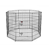 Hq Pet Metal Indoor Foldable Dog Playpen Puppy Guinea Pig Exercise Fences Xl