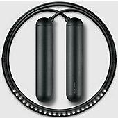 Tangram Smart Fitness Rope│23 LEDs│Magnetic│Chargable│Calorie Burner│Black Small