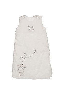 OBaby B is for Bear White 2.5 Tog Sleeping Bag - 6-18 Months