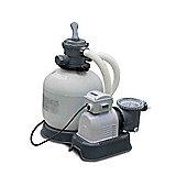 Intex Krystal Clear Sand Filter Pump 1600 Gall/Hr