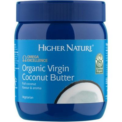 Higher Nature Virgin Coconut Butter Organic 400g Oil