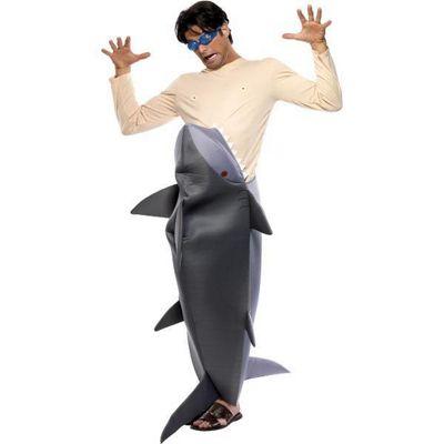 Man Eating Shark - Adult Costume Size: 38-40