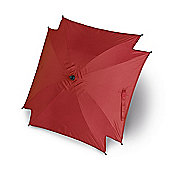 Universal Pram Pushchair Sun Parasol - Sun Umbrella Shade Canopy - Red