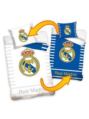 Real Madrid CF Reversible Single Cotton Duvet Cover Set