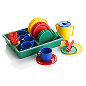 KiddyPlay 29 Piece Play Dishes Childrens Teaset