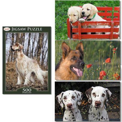 Toyrific 500 Piece Dog Jigsaw Puzzle