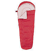 Tesco 200gsm Kids Sleeping Bag Pink
