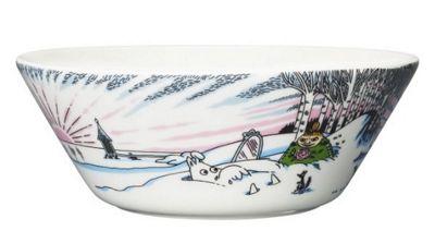 Arabia Iittala Moomin Bowl Dish   Spring Winter   15cm