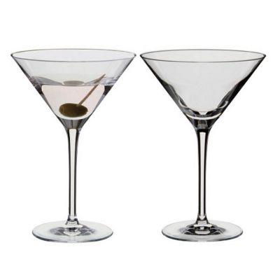 Dartington Crystal Wine & Bar Set 2 Martini Cocktail Glasses, 240ml