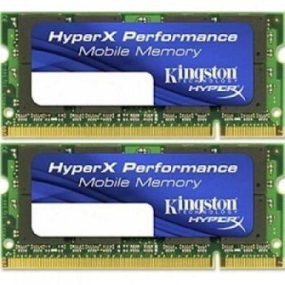 Kingston HyperX 4GB (2x2GB) Memory Kit 667MHz PC2-5300 DDR2 Unbuffered Non-ECC Low-Latency CL4 200-pin SODIMM