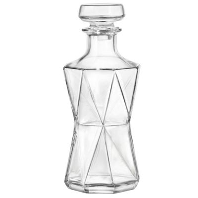 Bormioli Rocco Cassiopea Glass Whisky / Spirit Decanter - 1000ml (33.75oz)