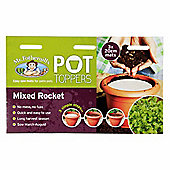 Mr Fothergill's Mixed Rocket Salad Leaves Garden Plant Pot Topper