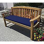 Three Seater Bench Cushion Midnight Blue