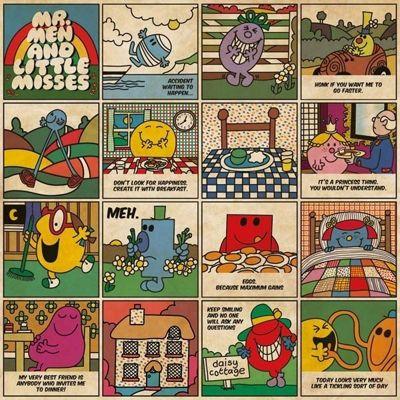 Mr Men - Classic - 1000pc Puzzle